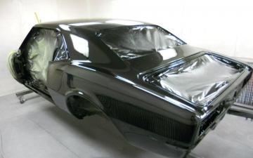1968 Tuxedo Camaro